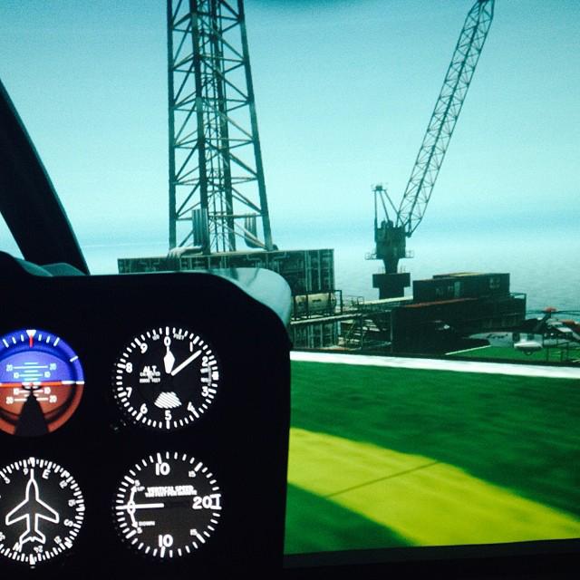 Simulador de Helicóptero R22/44